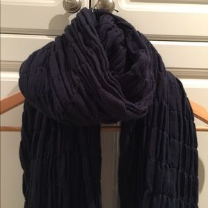 Echo Navy Blue Long Scarf New With Tags